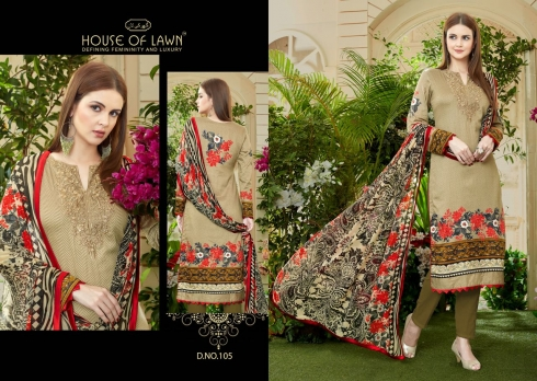 HOUSE OF LAWN MUSLIN WHOLESALE SALWAR SUITS MANUFACTURER (10)