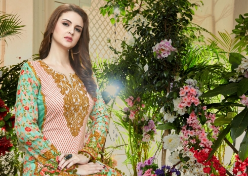 HOUSE OF LAWN MUSLIN WHOLESALE SALWAR SUITS MANUFACTURER (13)