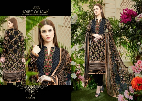 HOUSE OF LAWN MUSLIN WHOLESALE SALWAR SUITS MANUFACTURER (5)