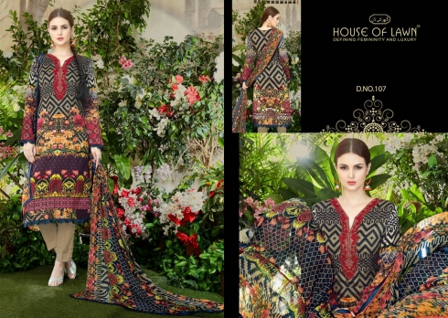 HOUSE OF LAWN MUSLIN WHOLESALE SALWAR SUITS MANUFACTURER (7)