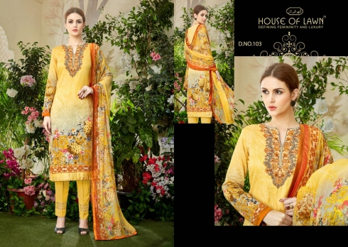 HOUSE OF LAWN MUSLIN WHOLESALE SALWAR SUITS MANUFACTURER (8)