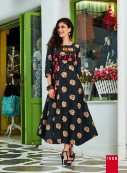 KAJAL STYLE FASHION ADIBA VOL 1 WHOLESALE KURTI (6)