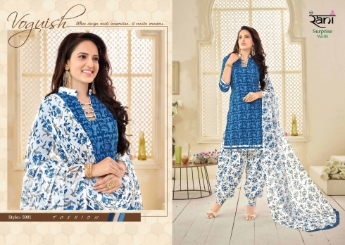 RANI SURPRISE VOL 5 COTTON LAWN WHOLESALE SUITS (1)