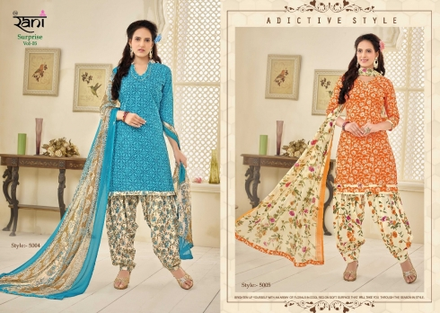 RANI SURPRISE VOL 5 COTTON LAWN WHOLESALE SUITS (3)
