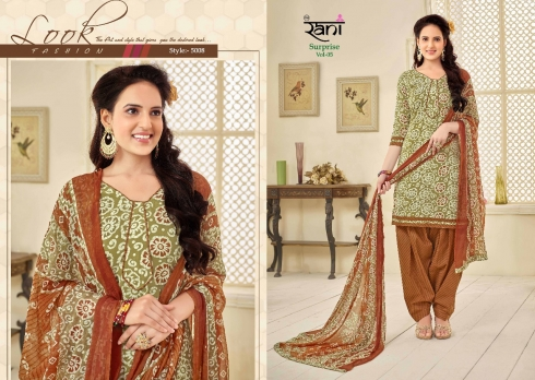 RANI SURPRISE VOL 5 COTTON LAWN WHOLESALE SUITS (5)