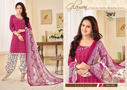 RANI SURPRISE VOL 5 COTTON LAWN WHOLESALE SUITS (6)