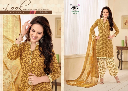 RANI SURPRISE VOL 5 COTTON LAWN WHOLESALE SUITS (7)