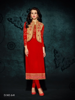 RANI TRENDZ ENGAGE SALWAR SUITS WITH KOTI (1)