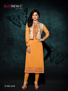 RANI TRENDZ ENGAGE SALWAR SUITS WITH KOTI (4)