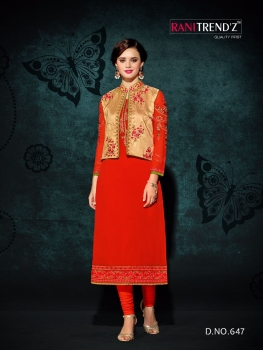 RANI TRENDZ ENGAGE SALWAR SUITS WITH KOTI (7)