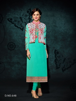 RANI TRENDZ ENGAGE SALWAR SUITS WITH KOTI (8)